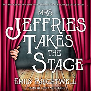 Mrs. Jeffries Takes the Stage Audiobook