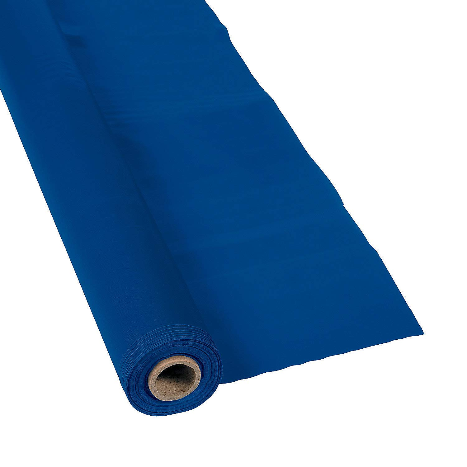 Table Covers 1 Piece Navy Tablecloth Roll - Party Supplies Fun Express 40 X 100 Solid Table Rolls