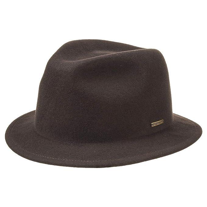 Stetson Sombrero VitaFelt Cushing by fedorasombreros de hombre fedora   Amazon.es  Ropa y accesorios 04b5f9b6cc8
