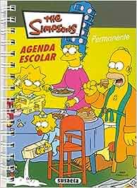 Agenda permanente Simpsons (Agenda The Simpsons): Amazon.es ...