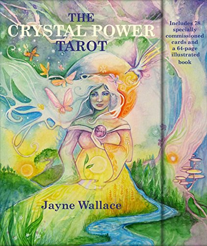 - The Crystal Power Tarot: Includes a full deck of 78 specially commissioned tarot cards and a 64-page illustrated book