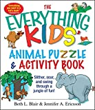 The Everything Kids' Animal Puzzles & Activity Book: Slither, Soar, And...