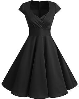 fe24d792e3705 Bbonlinedress Women Short 1950s Retro Vintage Cocktail Party Swing Dresses