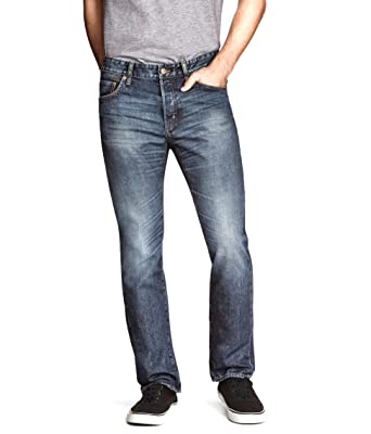 271814ff249 H&M Divided Blue Men's Slim Fit Jeans at Amazon Men's Clothing store: