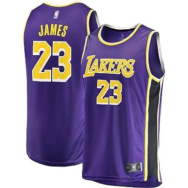 innovative design 80dce 6326d Fast Break Lebron Lakers Replica Jersey Purple - Statement ...