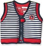 Konfidence Jacket™ Pink/Navy Hibiscus Design for Swimming