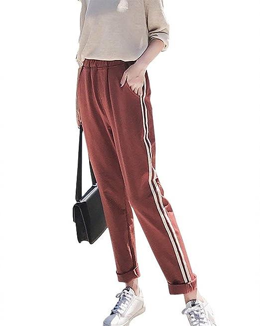 Deporte Fashion Outdoor Mujer Pantalones Cómodo Elegantes 6EqwRxx0d