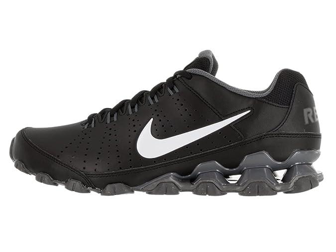 Nike Reax 9 TR, Zapatillas de Deporte para Hombre, Negro/Blanco/Gris (Black/White-Dark Grey), 44 1/2 EU: Amazon.es: Zapatos y complementos