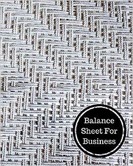amazon balance sheet for business balance sheet book insignia