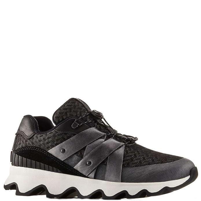 Kinetic, Sneakers Basses Femme, Noir (Black, White 010), 41.5 EUSorel