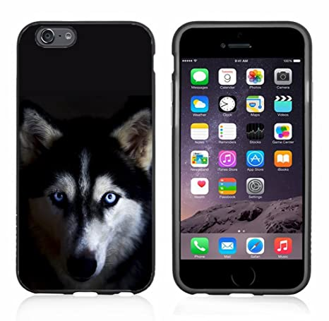 a50fb92bc5 Image Unavailable. Image not available for. Color: Blue Eyed Husky Dog for iPhone  6 Case ...
