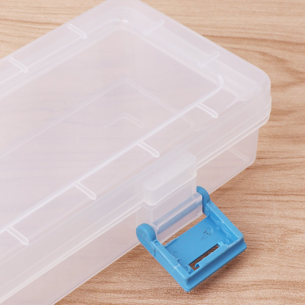 Leichtgewicht und Portable. Manyo 1 St/ück Aufbewahrungsbox f/ür Malpinsel//Bleistifte 33x7x3.5cm Kunststoff