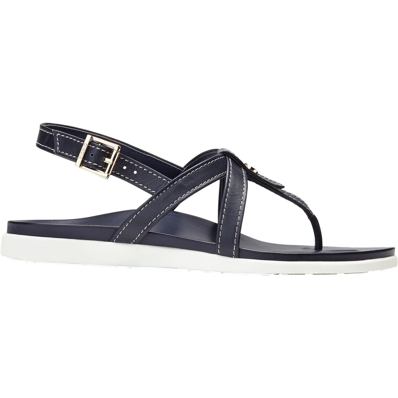 Vionic Palm Veranda- Womens Platform Sandal Navy - 8 Medium
