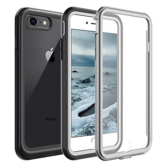 iphone 8 case shockproof clear