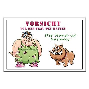 Frech Lustige Sprüche Hunde Warnschilder