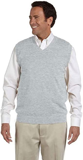 Devon & Jones Men's V-Neck Sweater Vest