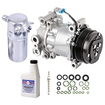 AC Compressor w/A/C Repair Kit For Chevy S10 Blazer GMC Sonoma Jimmy S15  Oldsmobile Bravada Isuzu Hombre 4 3L V6 - BuyAutoParts 60-80140RK New