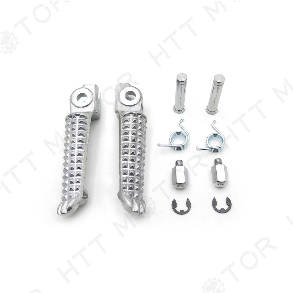 SMT MOTO- Motor Front Foot Pegs Footrest Fit For Yamaha Yzf-R1 Yzf-R6 Yzf R6 R1 1999-2011