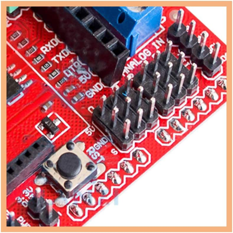 Comimark 1Pcs Xbee//Bluetooth//SRS485 RS485//APC220 I//O Sensor Expansion Shield V5.0 for Arduino