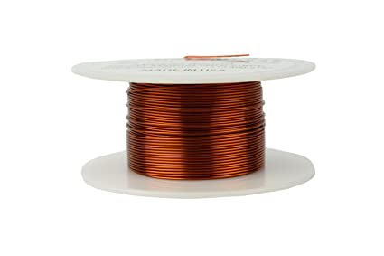 Amazon temco 22 awg copper magnet wire 4 oz 125 ft 200c temco 22 awg copper magnet wire 4 oz 125 ft 200c magnetic coil keyboard keysfo Gallery