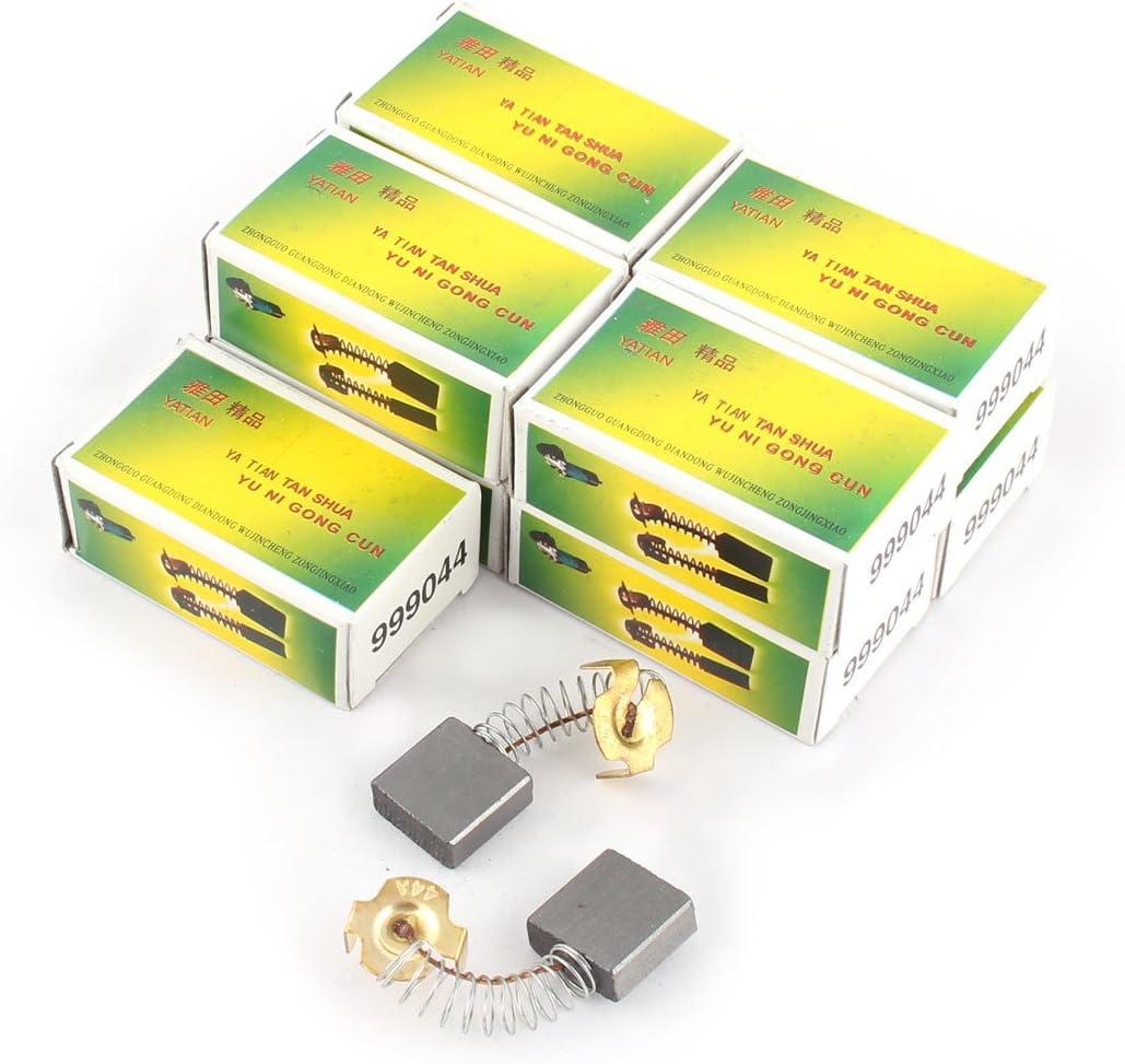 sourcingmap 20pcs de Escobillas de carb/ón del motor de 18mm x 17mm x 7mm para Motor El/éctrico gen/érico