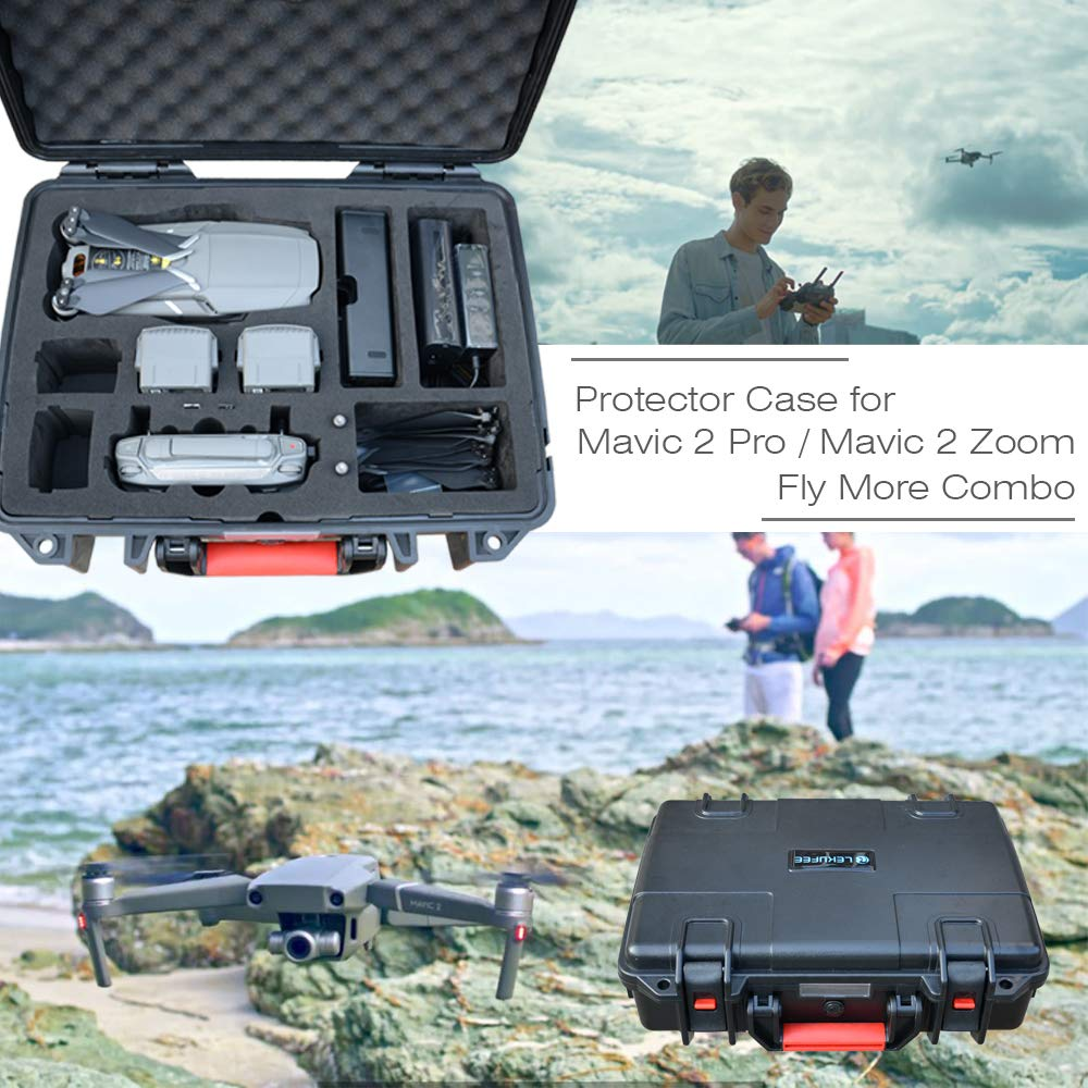 Lekufee DJI Mavic Pro 2 Case,Professional Carrying Case Compatible for DJI Mavic 2 Pro/Zoom and More Accessories by Lekufee (Image #7)