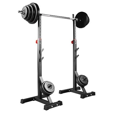 Soporte para pesas trainhard soporte par de juego de 25 kg