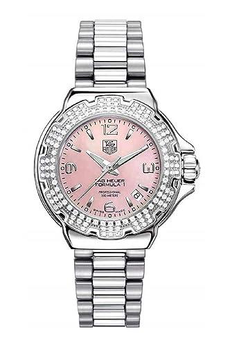 TAG Heuer WAC1216.BA0852 - Reloj, correa de acero inoxidable: Amazon.es: Relojes