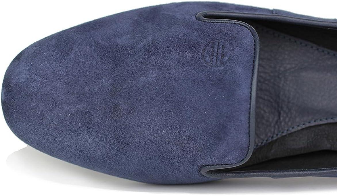 Rhea Flats Lightweight Suede Slip-Resistant Premium Cushion Shoes Slip-on Loafer