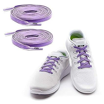 MAXXLACES - Cordones elásticos y planos, tensión ajustable para no tener que atar los zapatos