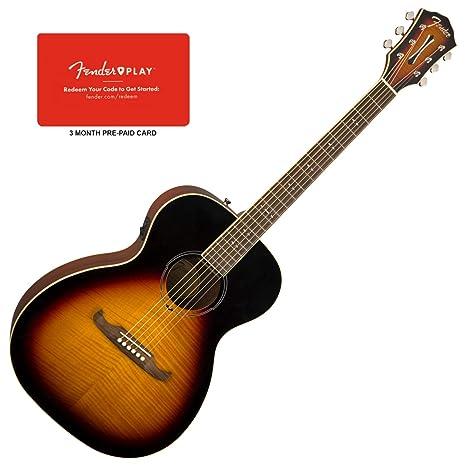 Fender 0961252032 FA-235E - Guitarra eléctrica acústica para concierto (3 meses)