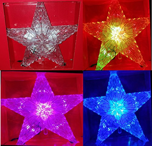 9 Inch Color Changing Star Tree Topper