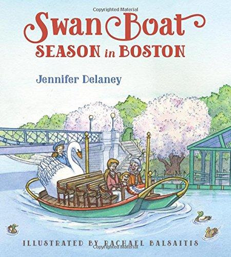 Swan Boat Season in Boston (Boston Swan Boats)