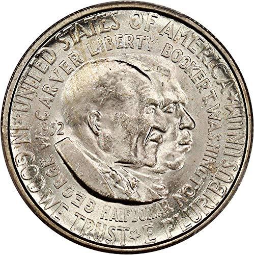 1952 S Silver Commemoratives Washington-Carver Half Dollar MS65 PCGS ()