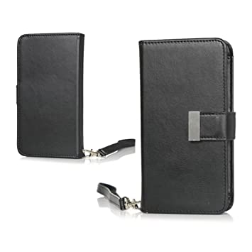 uk availability 41ef1 f10c9 TopAce Doro 8030 Case, Premium PU Protective Leather Case / Flip Case /  Wallet Case for Doro 8030 (Black)