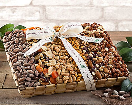 Wine Country Gift Baskets Orchards Fruit & Nut Collection