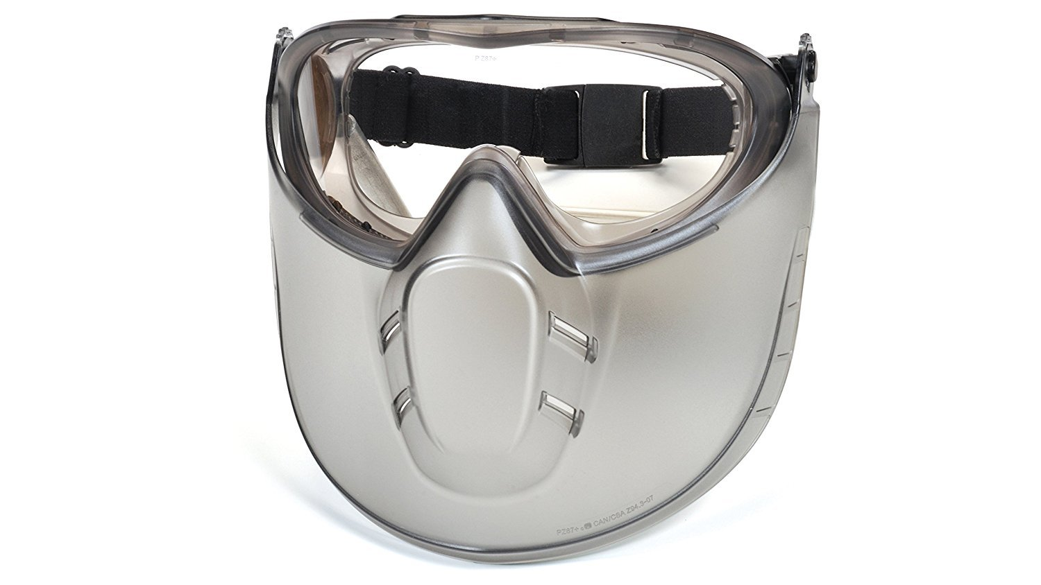 Pyramex Capstone Direct/Indirect Goggle with Faceshield Attachment GG504TShield (6 Pack) by Pyramex (Image #2)