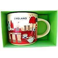 Starbucks You Are Here England mugg