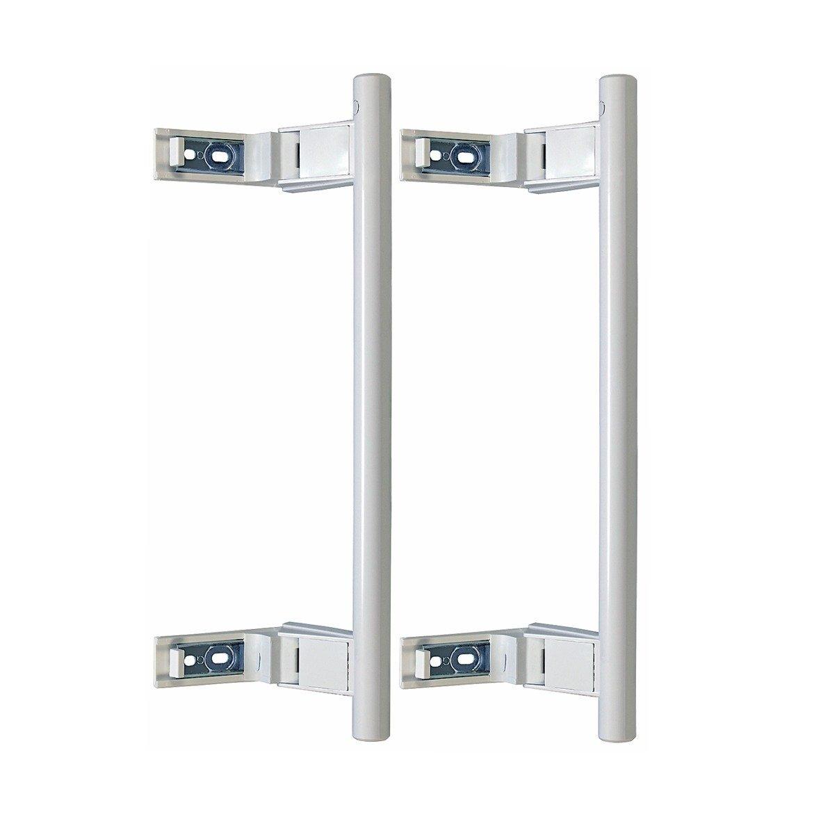 Orginal Set Asas de Puerta Blancas Forma de Barra Frigorífico ...