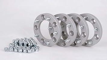 Spurverbreiterung Aluminium 4 Stück 20 Mm Pro Scheibe 40 Mm Pro Achse Incl TÜv Teilegutachten Auto