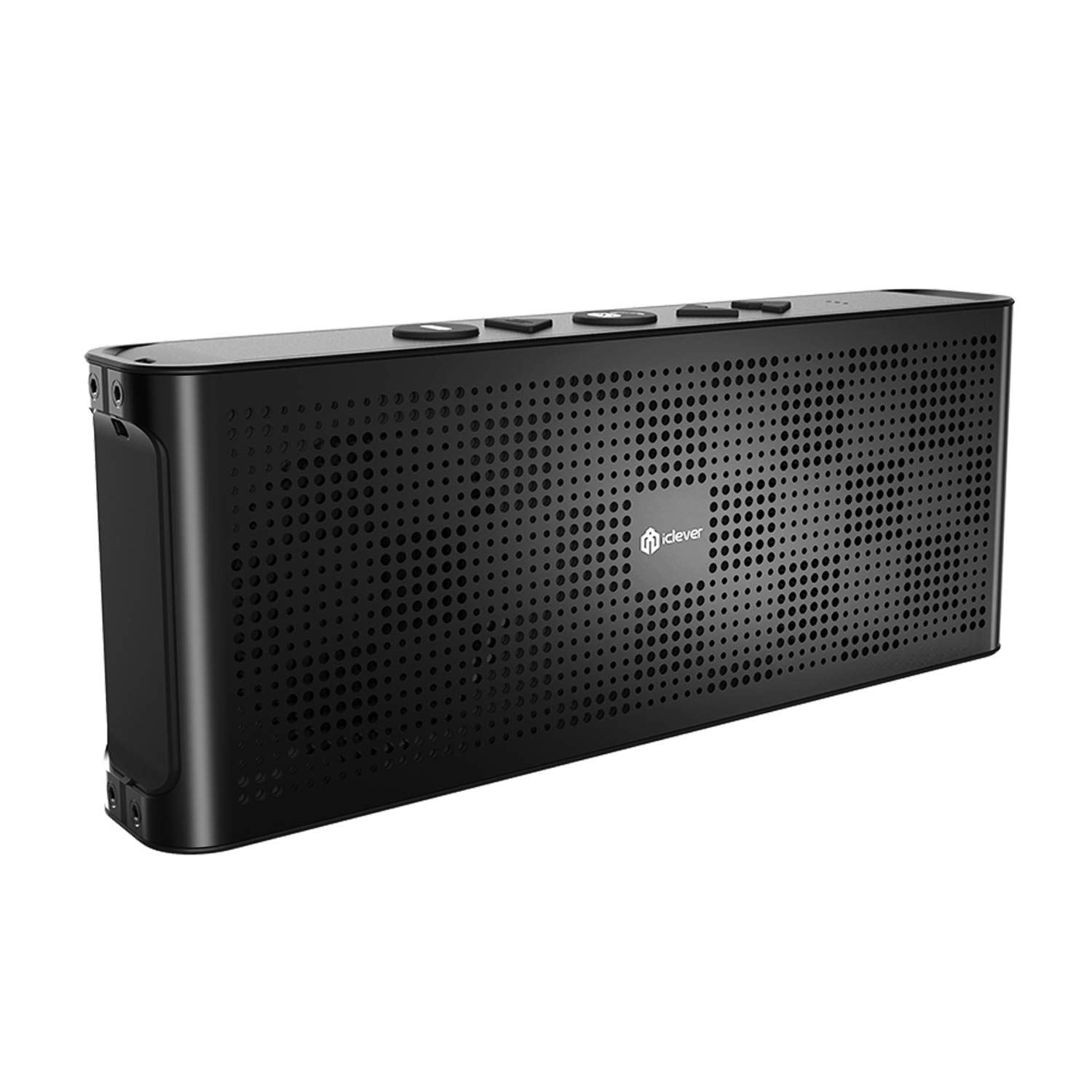 e36cd5285a98b8 iClever BoostSound BTS-04 Wireless Speakers with Enhanced Base Dual 10W  Driver IPX5 Water Resistant Aluminum Alloy Portable Bluetooth Speaker with  10 hr ...