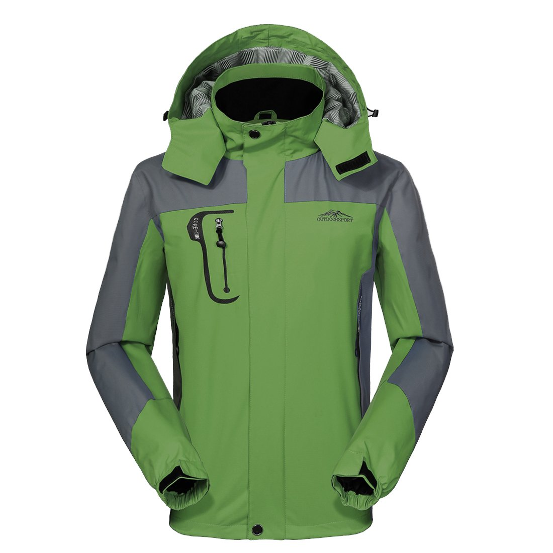 a9ff7f5a0f Waterproof Jacket Mens Raincoats-GIVBRO New Design Outdoor Hooded  Lightweight Softshell Hiking Windproof Rain Jackets