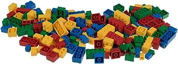 Oferta amazon: Strictly Briks - Set de Ladrillos de construcción y una Base - 216 Piezas de 4 Colores Diferentes - Piezas Sueltas - Compatible con Todas Las Grandes Marcas
