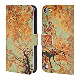 Official Olivia Joy StClaire Autumn Trees Nature Leather Book Wallet Case Cover For iPod Touch 5th Gen / 6th Gen