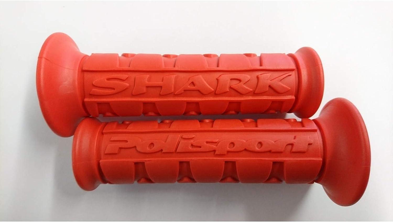 Griffgummi Shark rot 22//25mm paarweise POLISPORT