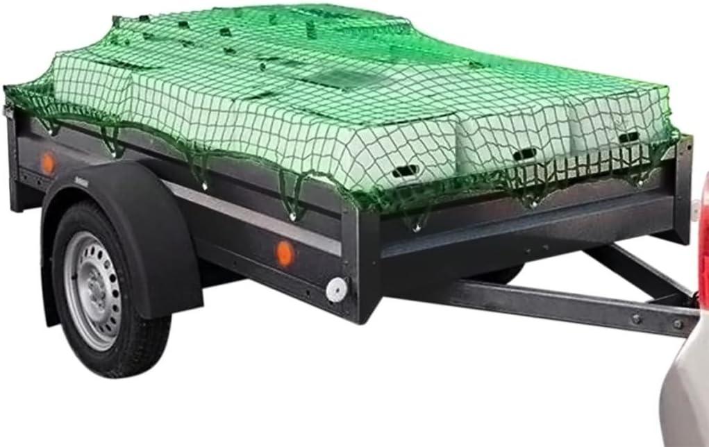 vidaXL Cargo//Luggage//Pick-up Truck Bed//Roof Rack//Boat Trailer Net 2.5x4.5 m PP Elastic
