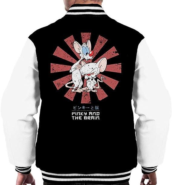 PHJFDJ Macross Hikaru Ichijo Mens Varsity Jacket