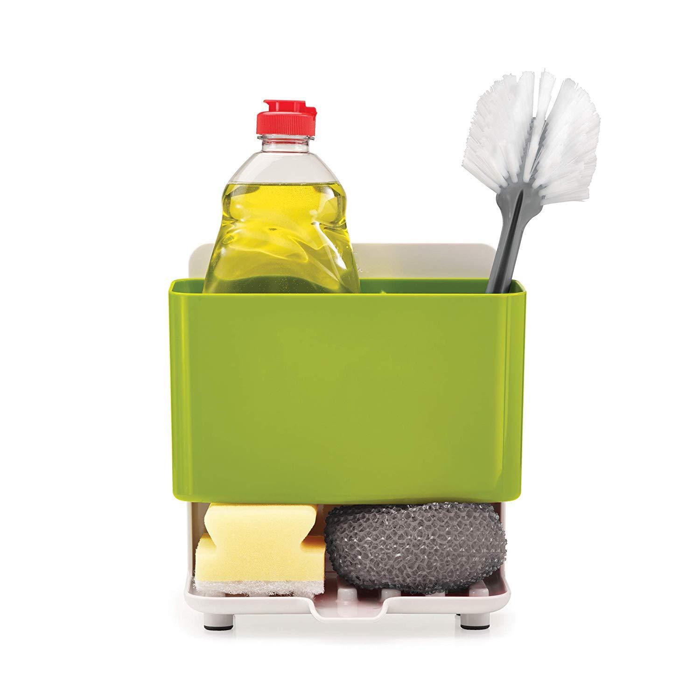 Damastoreitalia® - Porta Objetos, Fregadero, Esponja, detergente ...