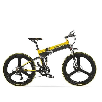 GTYW, Eléctrico, Plegable, Bicicleta, Bicicleta De Montaña, Ciclomotor Adulto, 48V