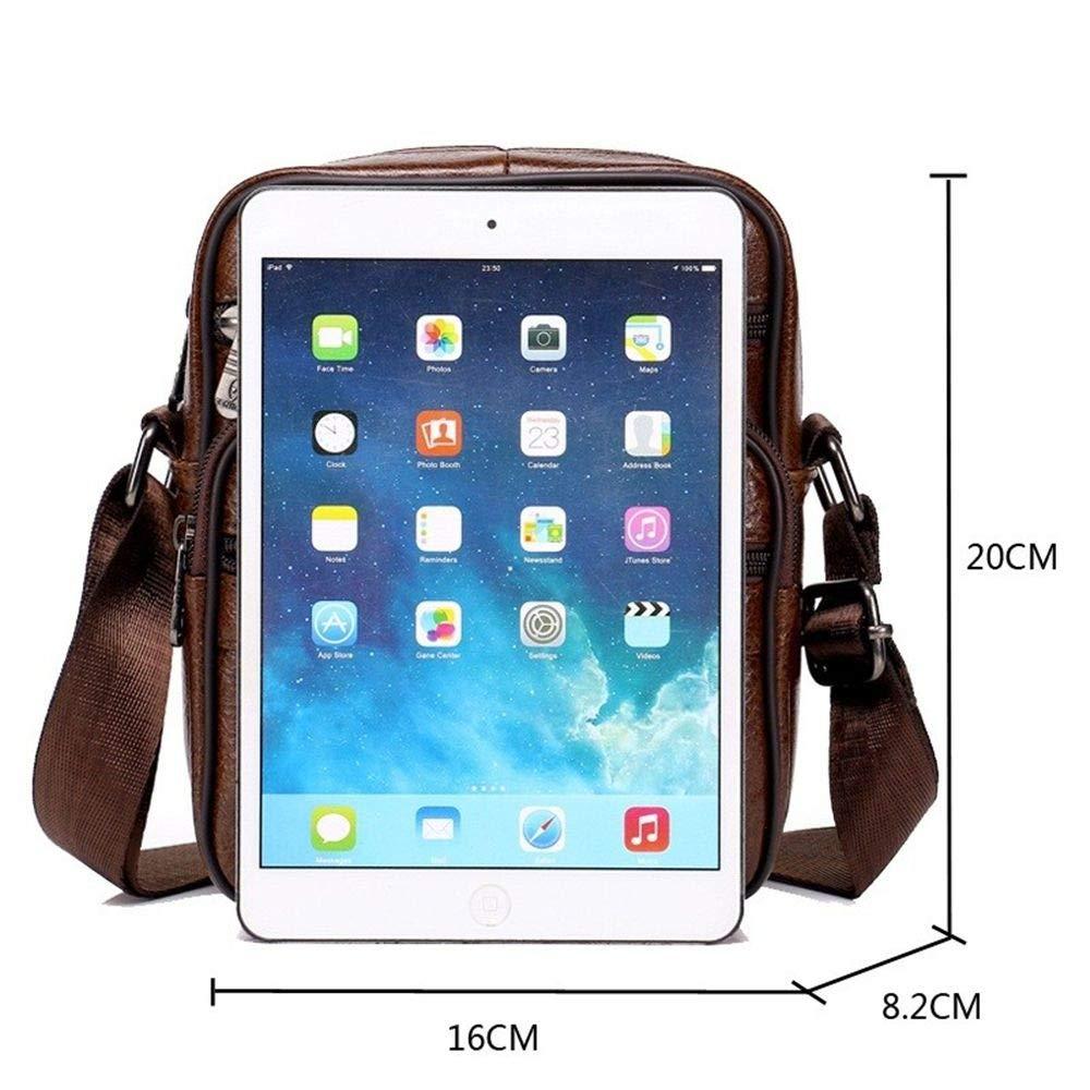 Color : 8001 Genuine Leather Crossbody Men Messenger Bag Hot Sale Male Small Man Flap Fashion Shoulder Bags Men39;s Travel New Handbags